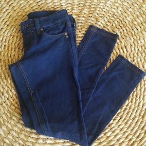 Blue jean leggings